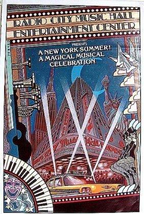 Radio City Music Hall Entertainment Center 1979