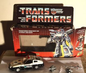"""The Transformers Heroic Autobot Strategist """"prowl"""""""