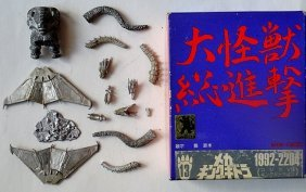 Wave Miniature Godzilla Metal Assembly Kit, 1992-2204