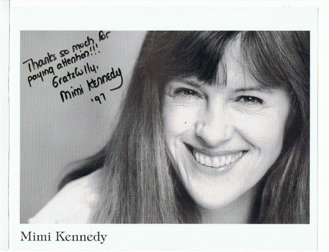 Mimi Kennedy - 8 X1 0 Photo W/ Certificate
