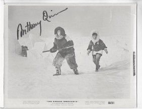 Anthony Quinn - 8x10 Photo W/ Certificate #2