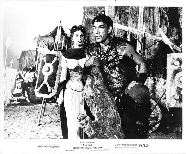 Anthony Quinn - 8x10 Photo W/ Certificate #5