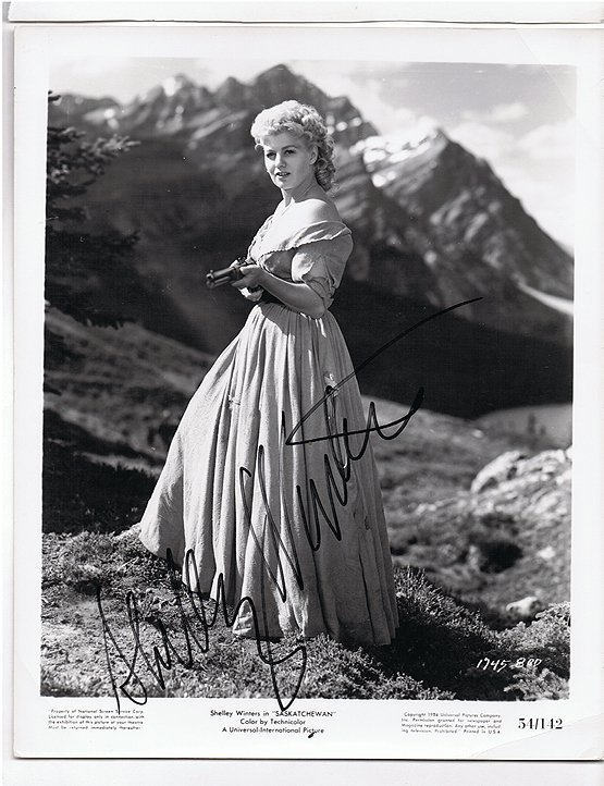 Shirley Winters #2 - - - 8x10 Photo W/ Certificate