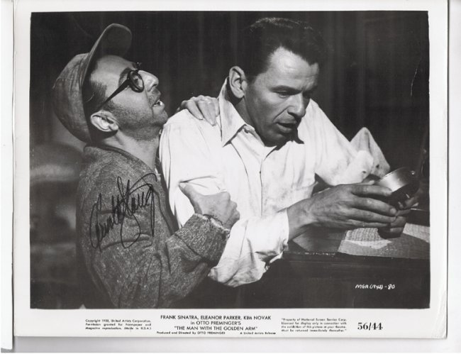 Arnold Stangs - 8 X 10 Photo W/ Certificate