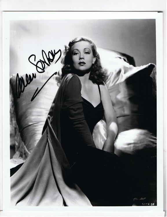 Anne Sothern - 8x10 Photo W/ Certificate