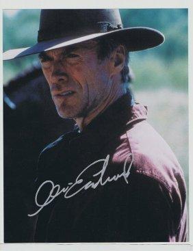 Clint Eastwood - 8 X 10 Photo W/ Certificate