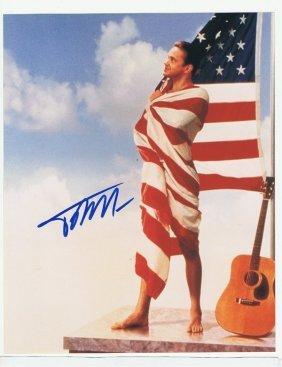 Tim Robbins - 8 X 10 Photo W/ Certificate