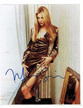 Mira Sorvino - 8 X 10 Photo W/ Certificate