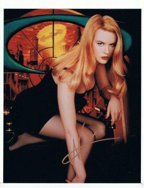 Nicole Kidman - 8 X 10 Photo W/ Certificate #2