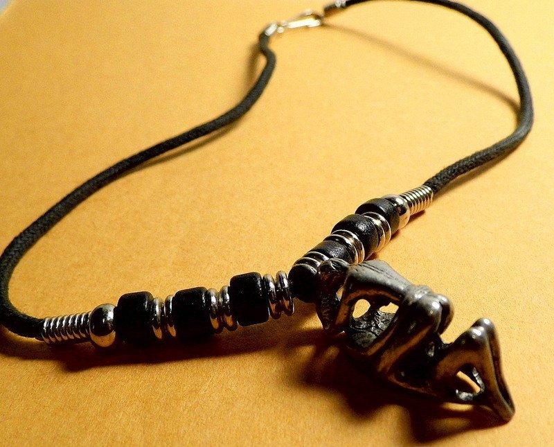 Erotic Charm Pendant Necklace Talisman  Rope strand