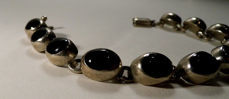 Designer Signed MPR Custom Charm Bracelet Sterling