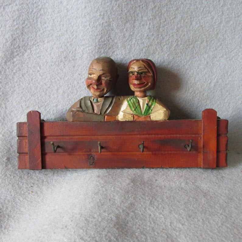 Antique Black Forest German Hooks