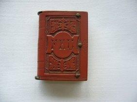 Antique German Figural Book Match Safe
