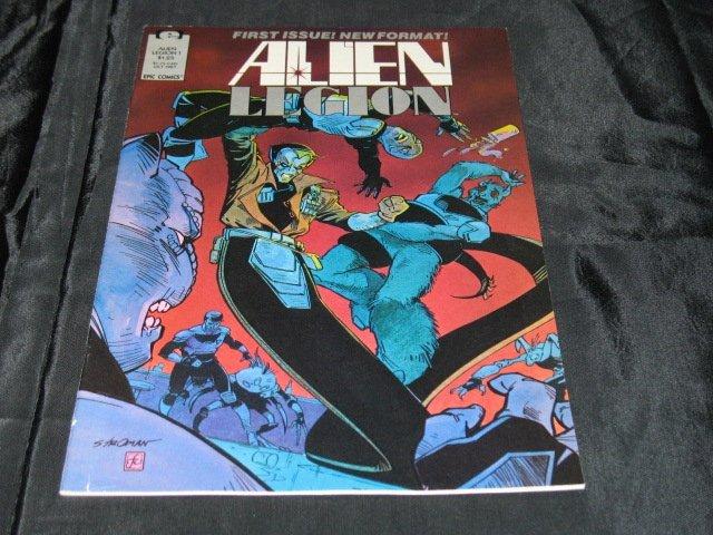Alien Legion (Vol. 2) #1
