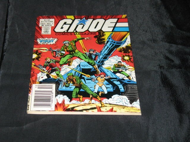 G.I. Joe Comics Magazine #1