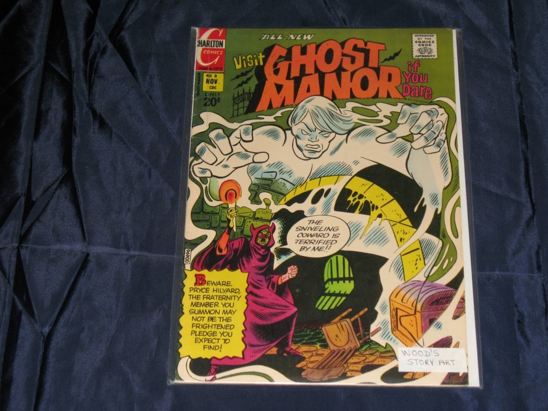 Ghost Manor (2nd Series) #8