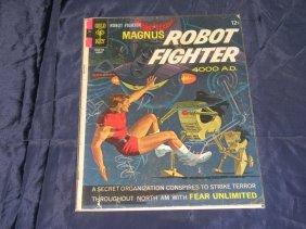 Magnus Robot Fighter (gold Key) #19