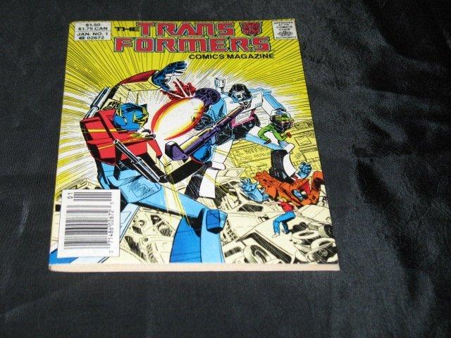 Transformers Comic Magazine #1