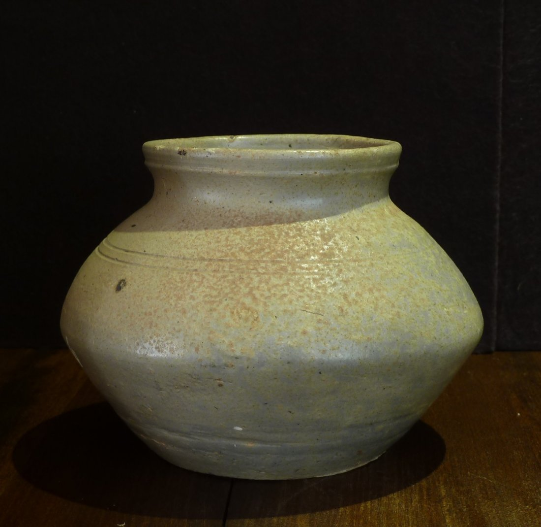 Han Period (206 B.C. - A.D. 220) / Jar with Whitish