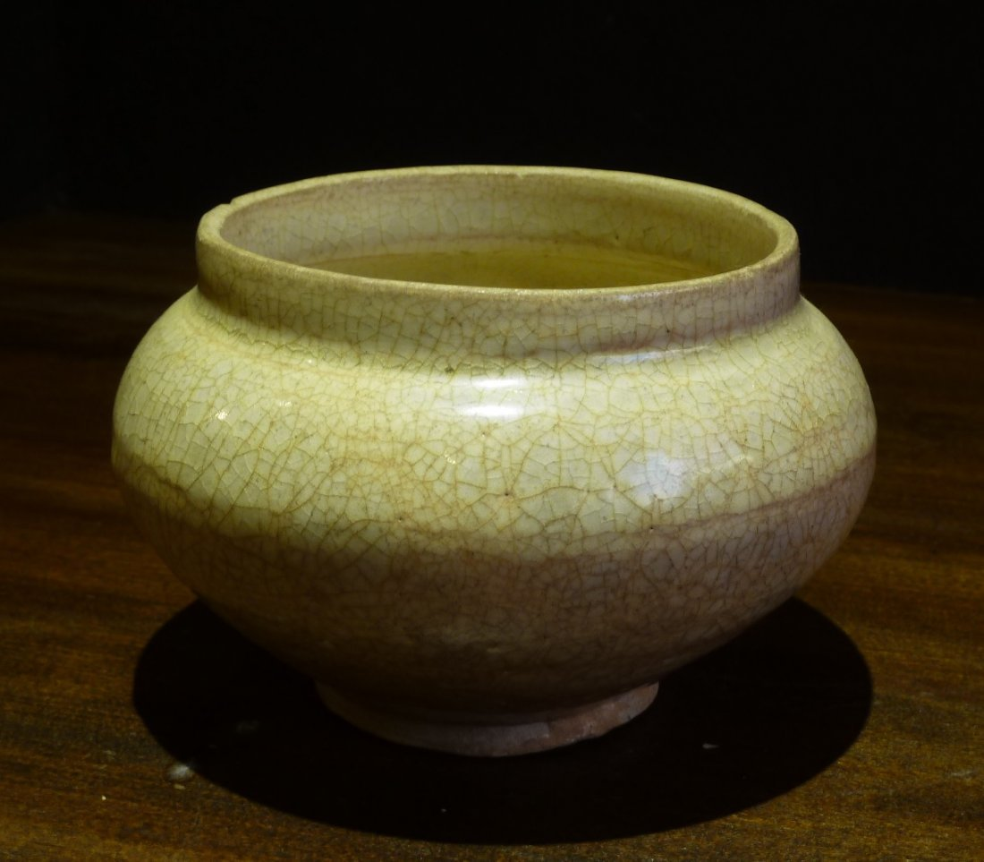 Sung Period 13th Century / Qingbai Jar off White Wth