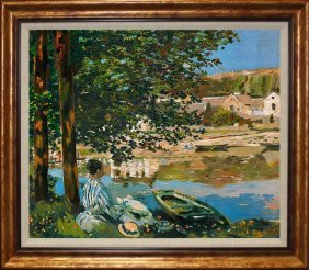 Claude Monet- Limited Edition The River