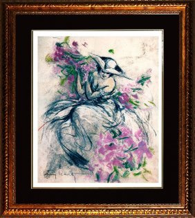 After Louis Icart Limited Edition Lavender Lady