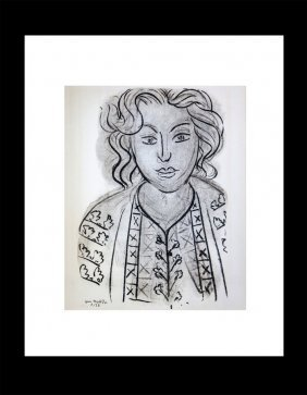 Henri Matisse Lithograph From Verve Collection 1940s