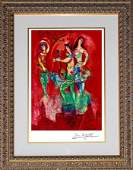 Marc Chagall Limited Edition Lithograph Carmen