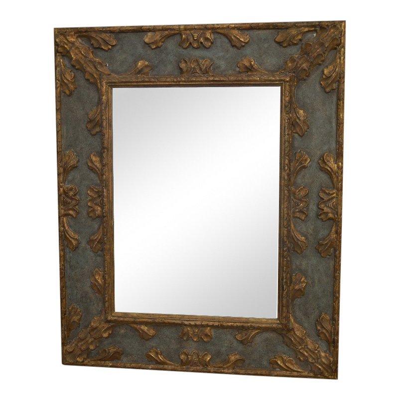 Superb Kneedler Fauchere Designer Mirror by Gregorius