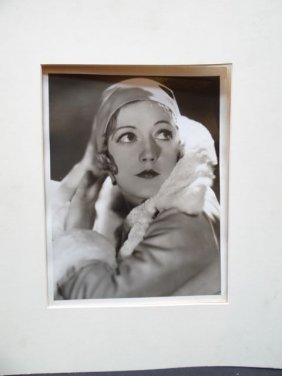 George Hurrell: Portrait Of Marion Davies For Mgm 1929