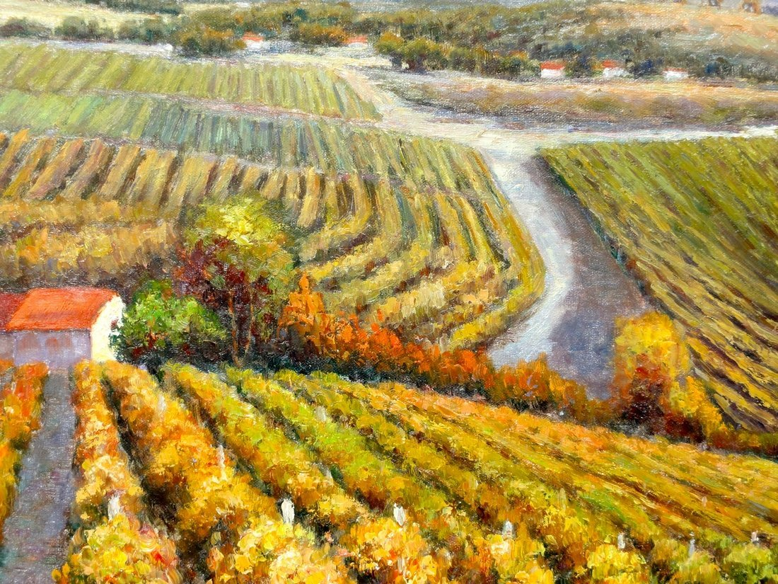 The Vineyard, Oil Painting by B. Paske - 2