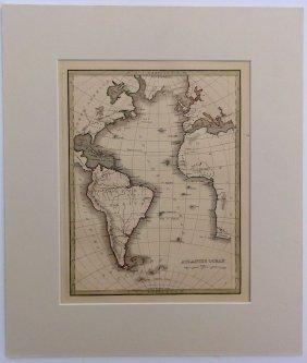 Atlantic Ocean By Bradford, 1835