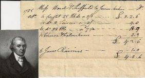 Captain Samuel Ward Jr. Supported Benedict Arnold;