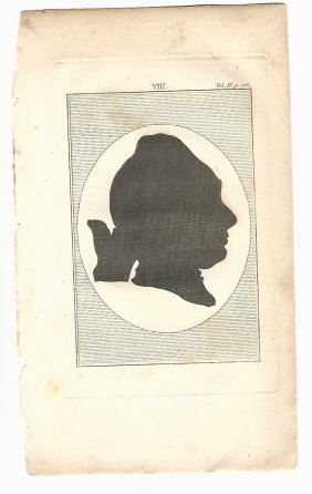 Two 18th Century Silhouettes