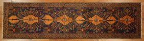 New Geometric Afghan Persian Oriental Runner Balouch
