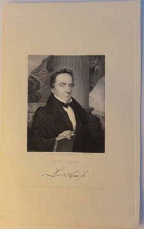 Portrait Of Lewis Cass, 1833