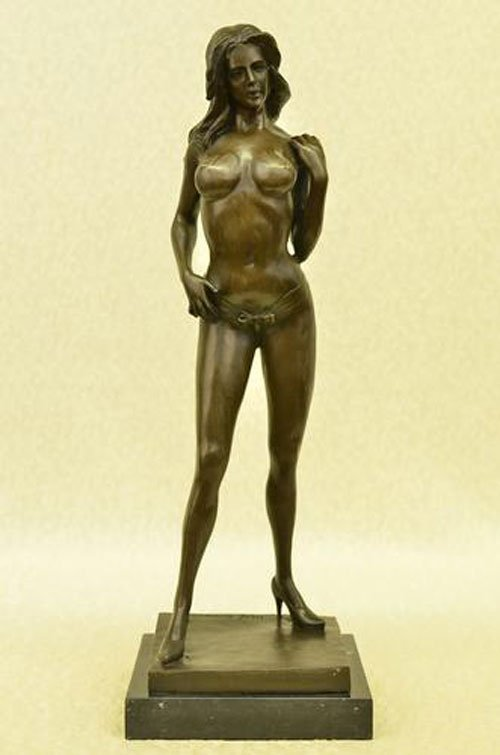 French Artist Pierre Tough Brave Nude Roman Warrior