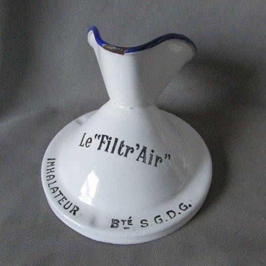 Antique French Agate Medical Inhaler, Le Filtr Air