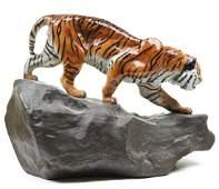 Royal Doulton Tiger On Rock HN2639 H 1025