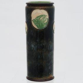 Royal Doulton Burslem Voysey Style Birds Stoneware