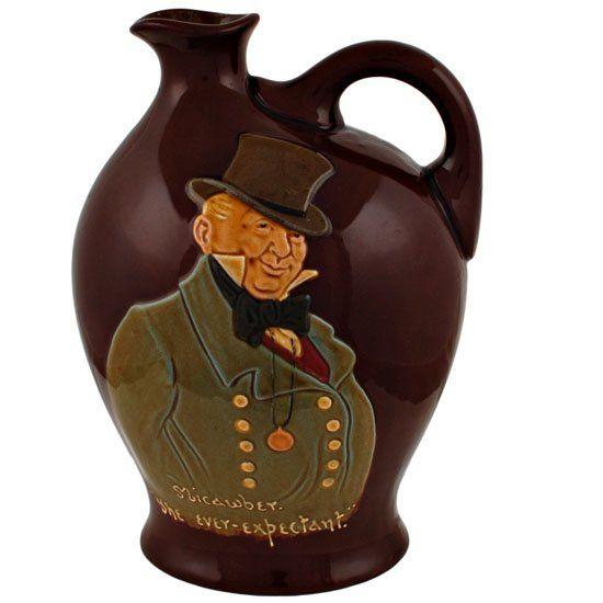 Royal Doulton Kingsware Mr Micawber - the Ever