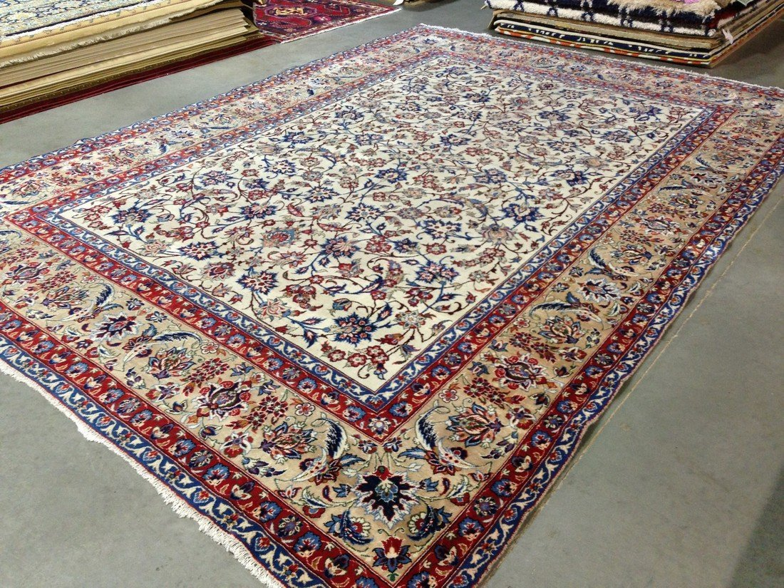 10x13 GORGEOUS VINTAGE AUTHENTIC HAND KNOTTED PERSIAN