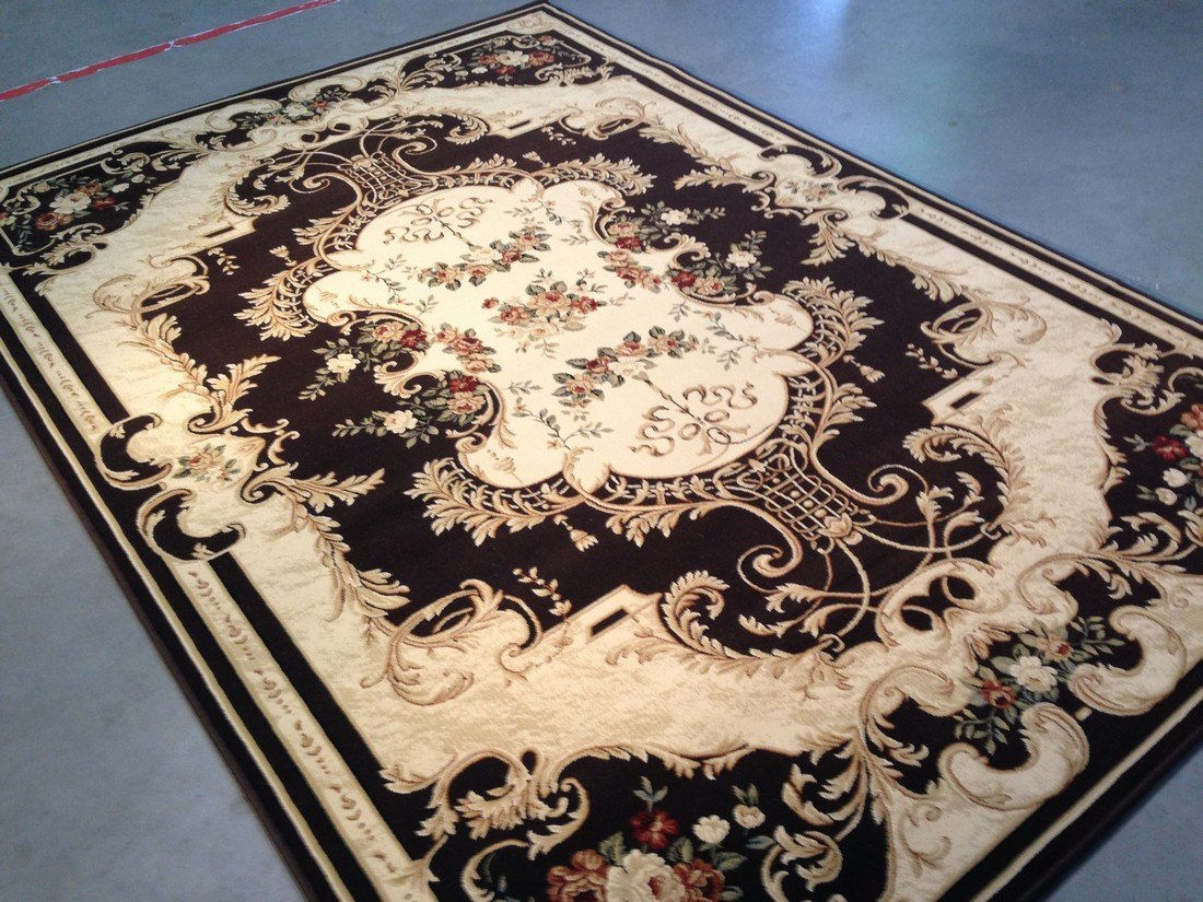 6x8 FRENCH AUBUSSON DESIGN AREA RUG