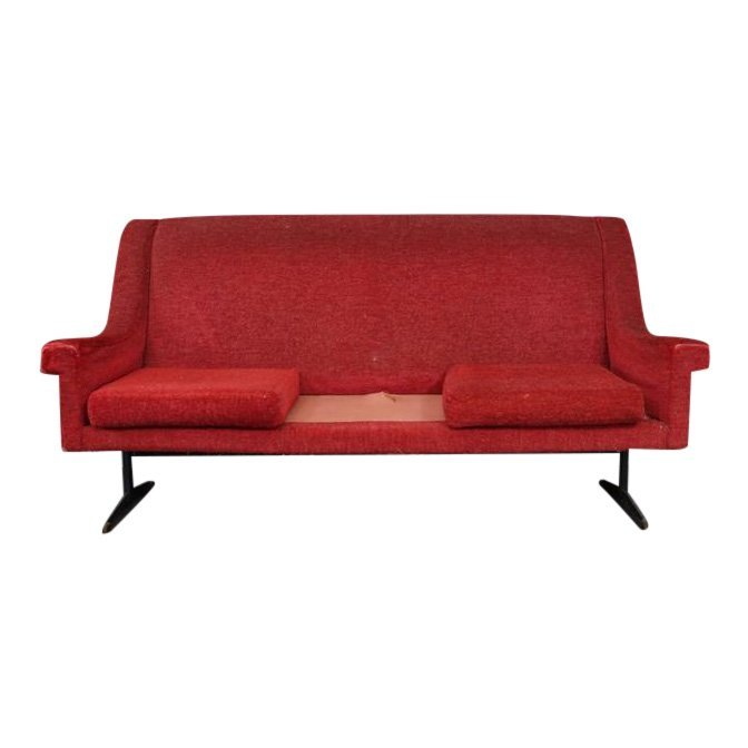 Italian Vintage Arflex Sofa. 1 cushion missing.
