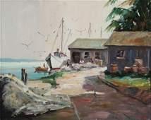 Melville Stark, Bell's Fish House, Longboat, Key Fla.