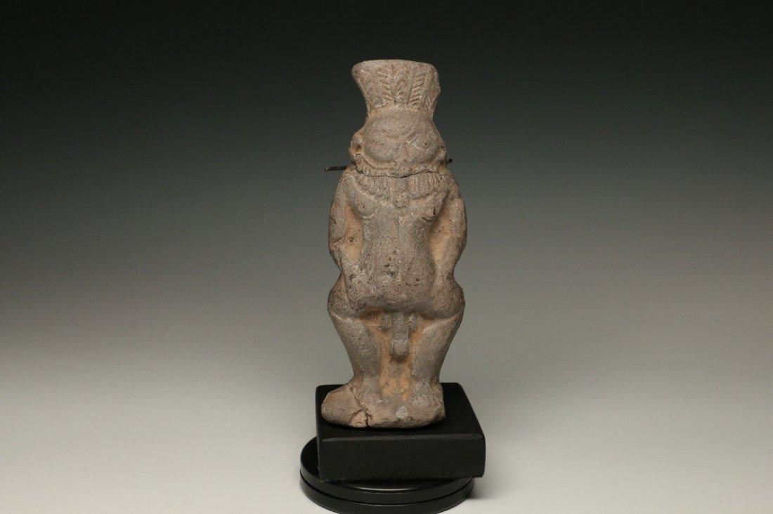 EGYPTIAN CERAMIC BES FIGURE