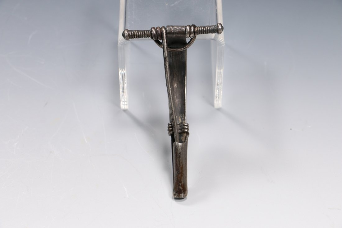 Roman Silver Fibula Brooch Circa. 3rd - 4th Century