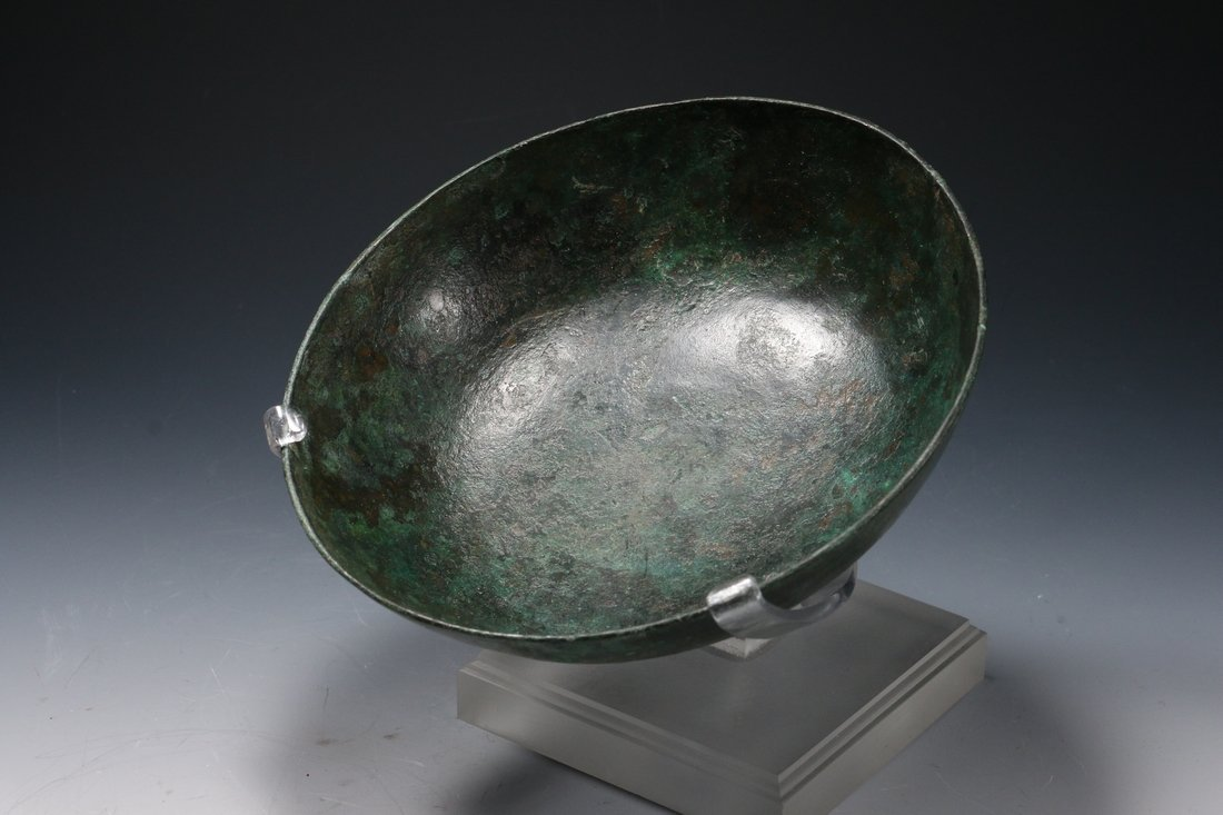 Roman Bronze Bowl ca. 1st - 3rd A.D.