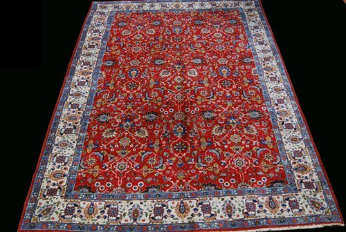 BEAUTIFUL TRADITIONAL DESIGN PERSIAN TABRIZ RUG