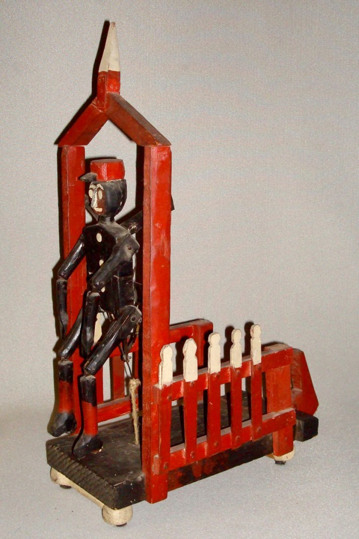 "Rare 1930s Articulated Railway ""Red Cap"""
